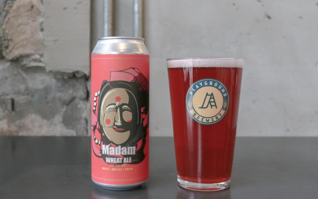 봄꽃처럼 매력적인 미소, '부네탈: Madam Cherry Wheat Ale'