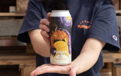 할로윈이 다가온 것을 알리는 가을 한정 맥주 '펌킨 에일' 출시